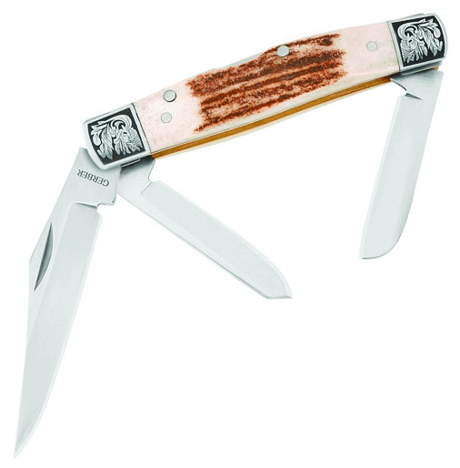 Stockman 3-blade Stag